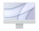 """Apple iMac 24"""" Retina 4,5K, (M1 8C CPU, 7C GPU), 8 ГБ, 256 ГБ SSD, серебристый (MGTF3)"""