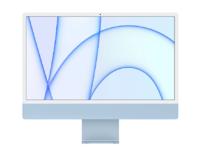 """Apple iMac 24"""" Retina 4,5K, (M1 8C CPU, 7C GPU), 8 ГБ, 256 ГБ SSD, синий (MJV93)"""