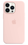 Чехол Apple iPhone 13 Pro Silicone Case MagSafe Chalk Pink