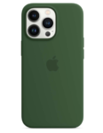 Чехол Apple iPhone 13 Pro Silicone Case MagSafe Clover