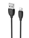 Кабель Borofone USB - Lightning (BX19), черный