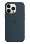 Чехол Apple iPhone 13 Pro Max Silicone MagSafe Abyss Blue