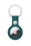 Брелок для Apple AirTag с кольцом для ключей, темно-зеленый