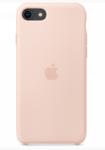 Чехол Silicon case iPhone SE 2020, розовый