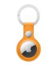 Брелок для Apple AirTag с кольцом для ключей, желтый