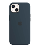 Чехол Apple iPhone 13 mini Silicone Case MagSafe Abyss Blue