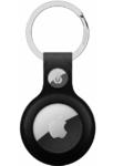 Брелок для Apple AirTag с кольцом для ключей, черный