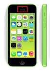 Чистка сетки разговорного динамика iPhone 5C