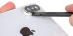 Замена стекла камеры iPhone Xs