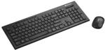 Клавиатура и мышь Canyon CNS-HSETW3-RU Black