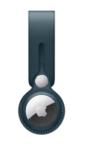 Брелок-подвеска Leather Loop для AirTag, темно-синий