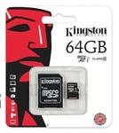 Карта памяти MicroSDHC 64GB Class 10 + SD-adapter (SDC10/64GB)
