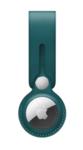 Брелок-подвеска Leather Loop для AirTag, темно-зеленый