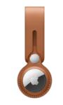 Брелок-подвеска Leather Loop для AirTag, золотисто-коричневый