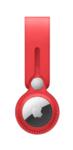 Брелок-подвеска Leather Loop для AirTag, красный