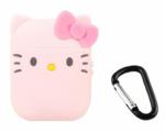 Чехол для AirPods/AirPods 2 3D Kitty (розовый)