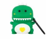 Чехол для AirPods/AirPods 2 3D Дракоша (зеленый)