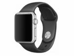 Силиконовый ремешок Wolt для Apple Watch 42/44 мм (черный)