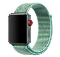 Нейлоновый ремешок для Apple Watch 42/44 мм, салатовый