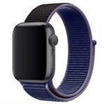 Нейлоновый ремешок для Apple Watch 42/44 мм, темно-синий