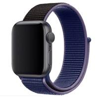 Нейлоновый ремешок для Apple Watch 38/40 мм, темно-синий