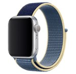 Нейлоновый ремешок для Apple Watch 42/44 мм, синий