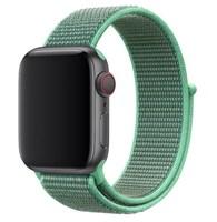 Нейлоновый ремешок для Apple Watch 38/40 мм, зеленый