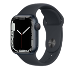 Apple Watch Series 7, 41mm, Midnight, Midnight Sport Band
