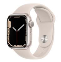 Apple Watch Series 7, 41mm, Starlight, Starlight Sport Band