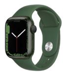 Apple Watch Series 7, 41mm, Green, Clover Sport Band