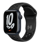Apple Watch Nike Series 7, 41mm, Midnight, Anthracite/Black Sport Band