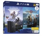 Sony PlayStation 4 Pro 1TB Black + Horizon Zero Dawn. Complete Edition + God Of War (CUH-7208B)