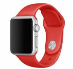 Силиконовый ремешок Wolt для Apple Watch 38/40 мм (красный)