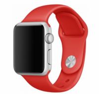 Силиконовый ремешок для Apple Watch 38/40 мм, красный