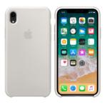 Чехол Silicon case iPhone XR, бежевый