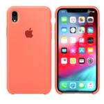 Чехол Silicon case iPhone XR, персиковый