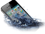 Очистка аппарата после попадания воды на iPhone 5S