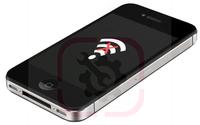 Замена модуля Wi-Fi (если телефон не находит подключений) на iPhone 4/4S