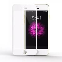 """Защитное стекло """"Premium Tempered 3D"""" iPhone 6/6S, белое"""